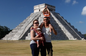 The main pyramid, Chichen Itza