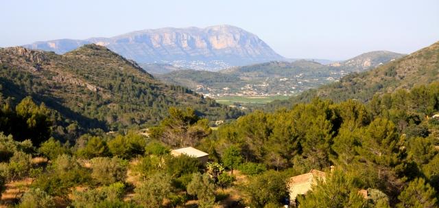 View from Caserio del Mirador