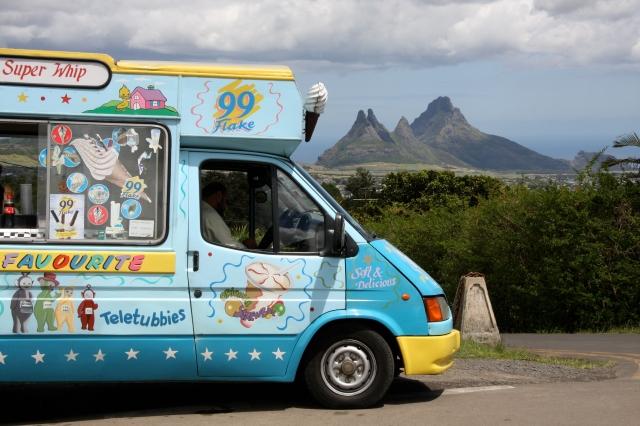 Mauritius ice cream van