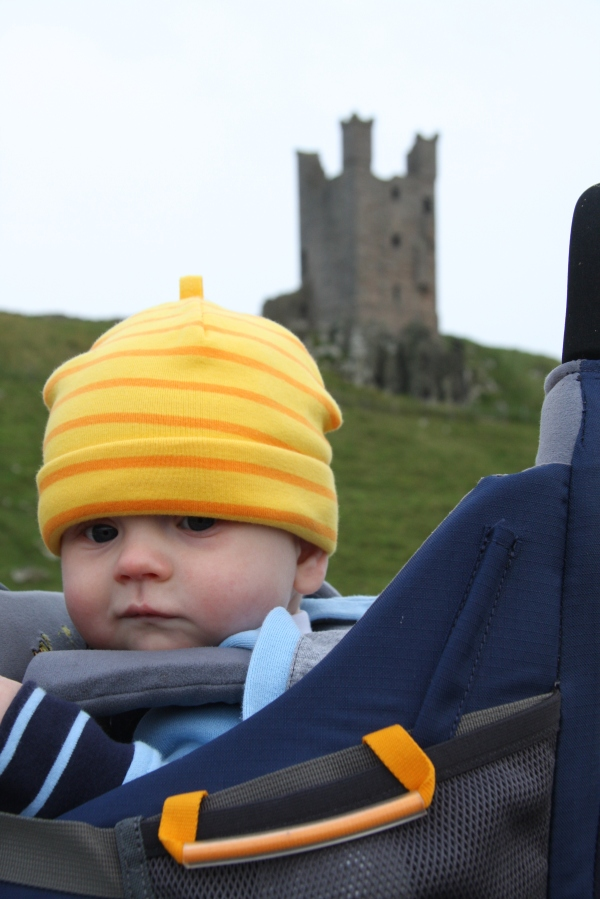 Leo at Dunstanburgh