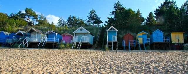 Beach huts, Wells