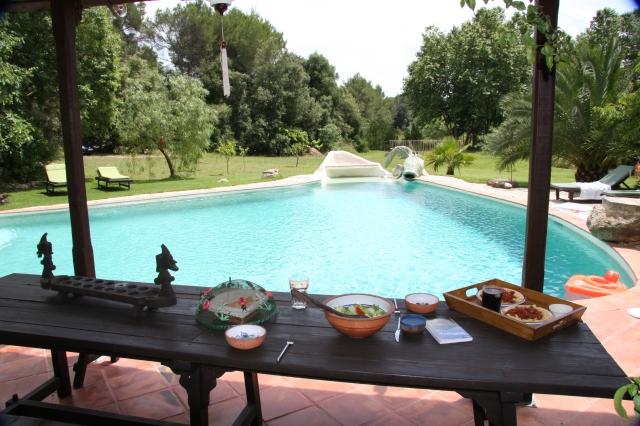 Pool at Villa Casa Rosa