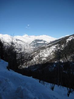 View from our bedroom balcony, Chalet de la Vanoise