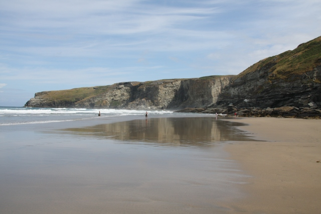 Trebarwith Sands