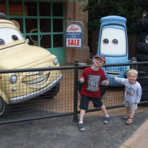 Cars, Disneyland Paris
