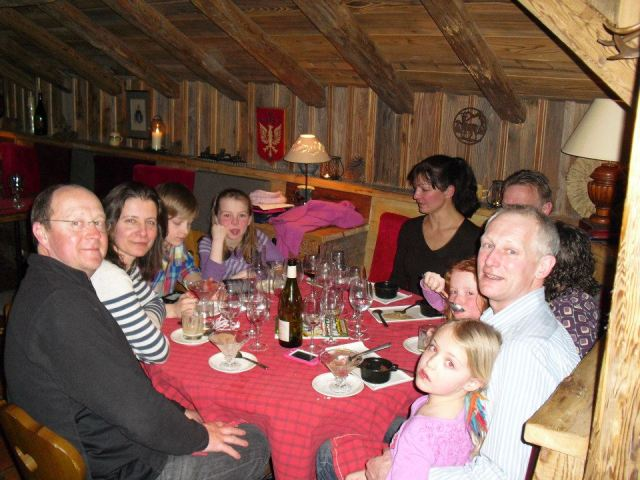 Family ski chalet holiday, Val d'Isere