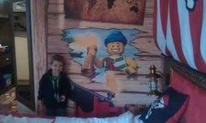 Pirate room, Legoland