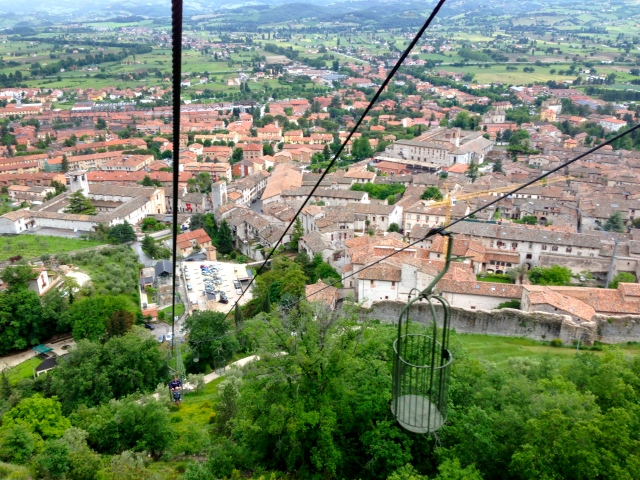 Gubbio chairlift