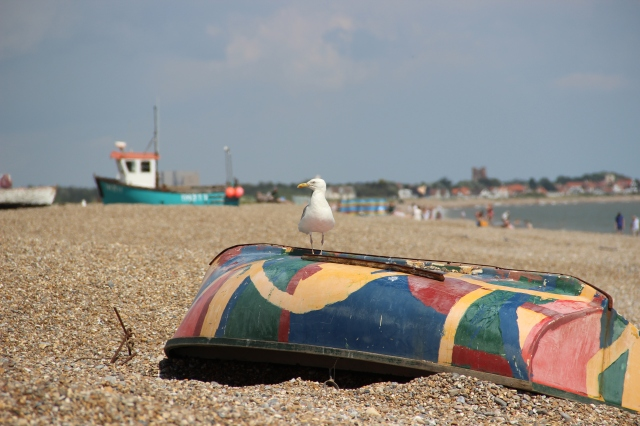 Aldeburgh beach again