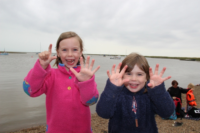 Crabbing at Walberswick
