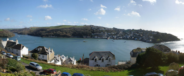 The view that awaits you from Retreat to Fowey