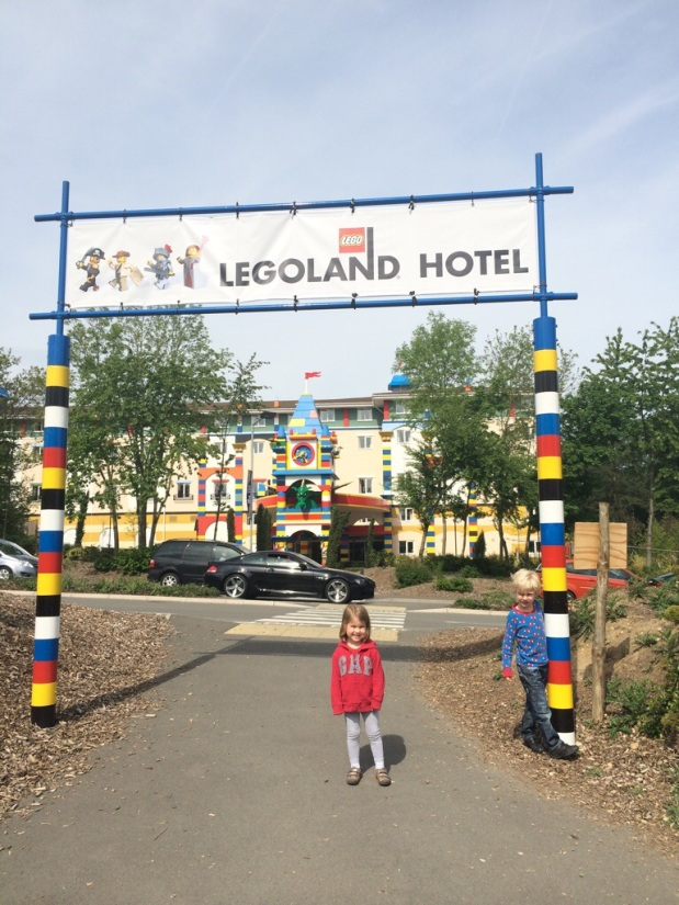 Arriving at Legoland Hotel