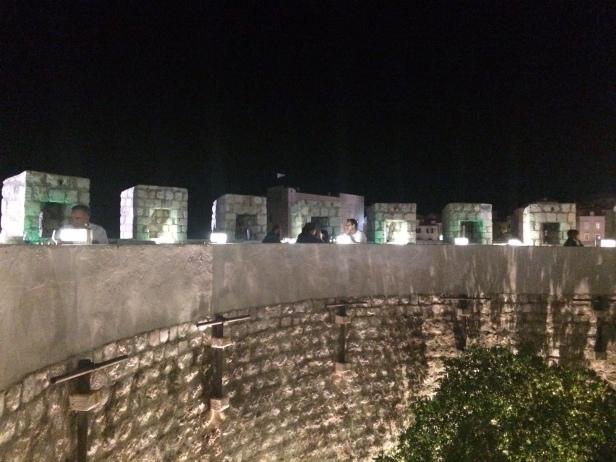 360 restaurant, Dubrovnik