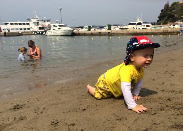 Lopud beach