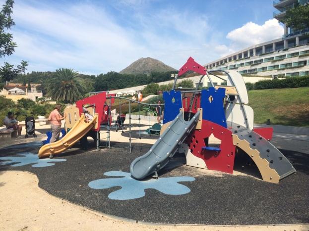 Kids' playground, Sun Gardens