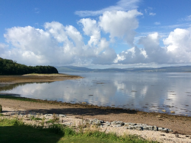 View from Oystershell Lodge, Argyll