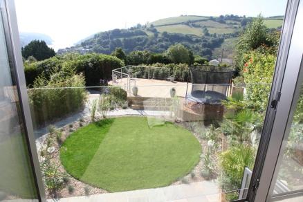 The Garden at The Glasshouse, Barrington House, Devon
