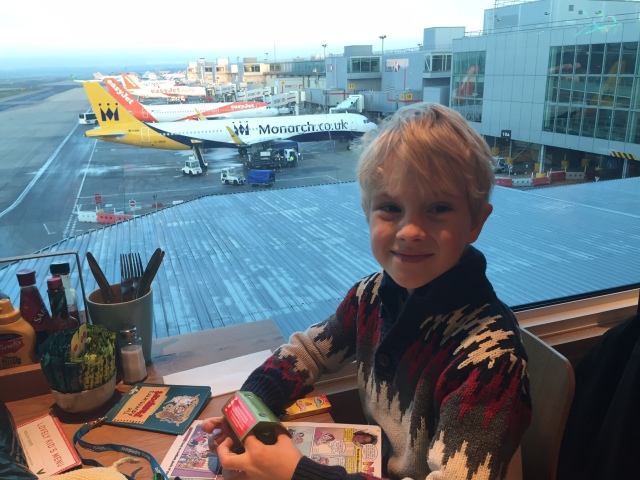 Leo at The Wonder Tree, Gatwick airport