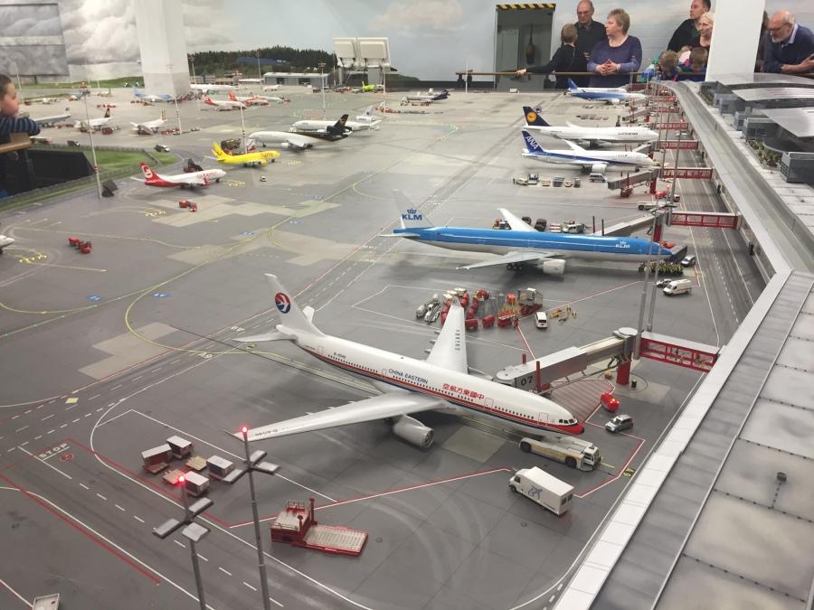 The amazing miniature airport