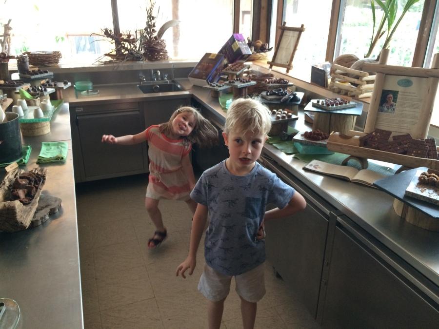 Kids in a sweet shop, Soneva Kiri
