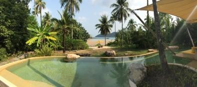 Private lagoon pool, Soneva Kiri