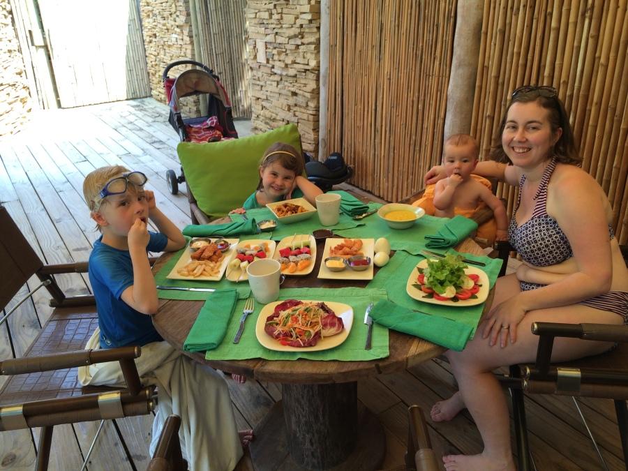 Room service lunch, Soneva Kiri