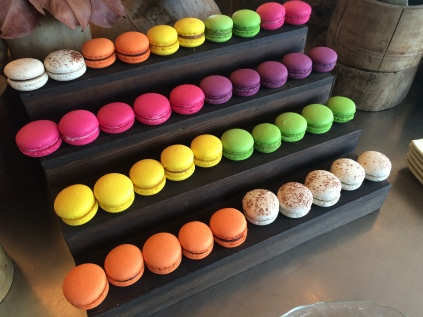 Macarons, Soneva Kiri chocolate room