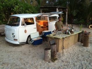 Beach bar, Soneva Kiri