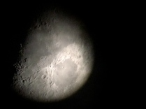 The moon from the observatory, Soneva Kiri