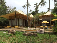Our 'rustic' accommodation, Soneva Kiri