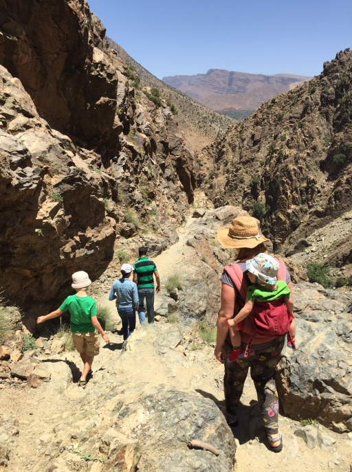 Trekking in the Atlas, Villas Fawakay