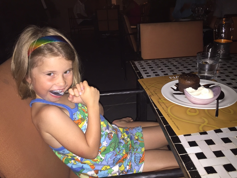 Chocolate pudding, Nargile!