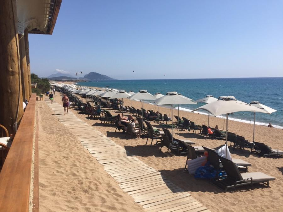 Beach, Costa Navarino