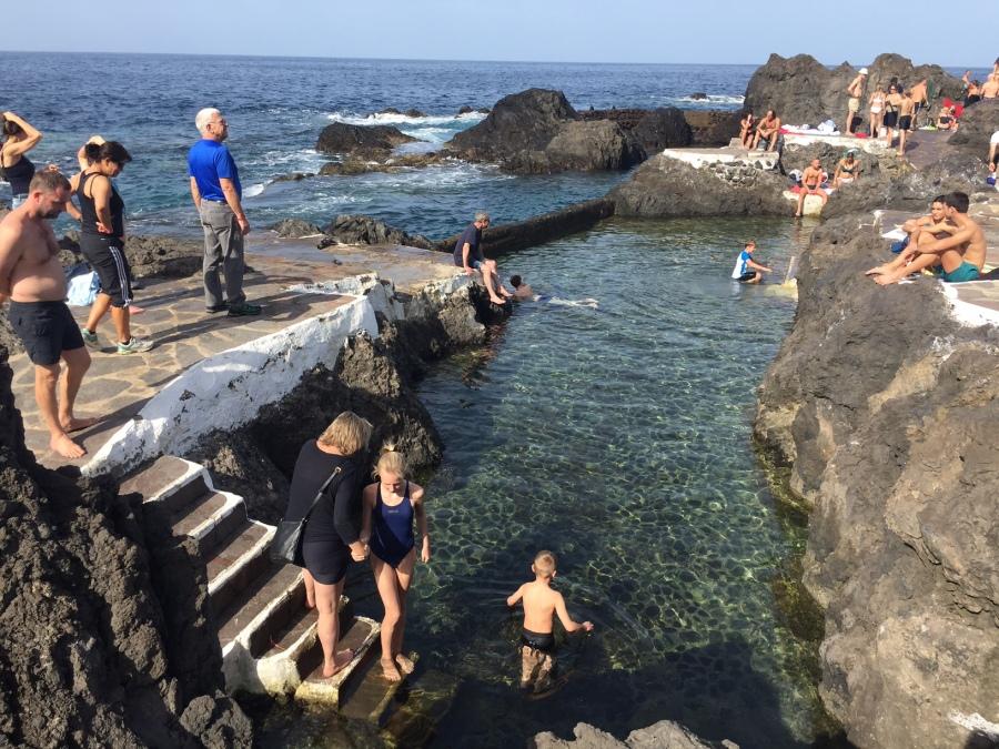 Garachico natural bathing pools