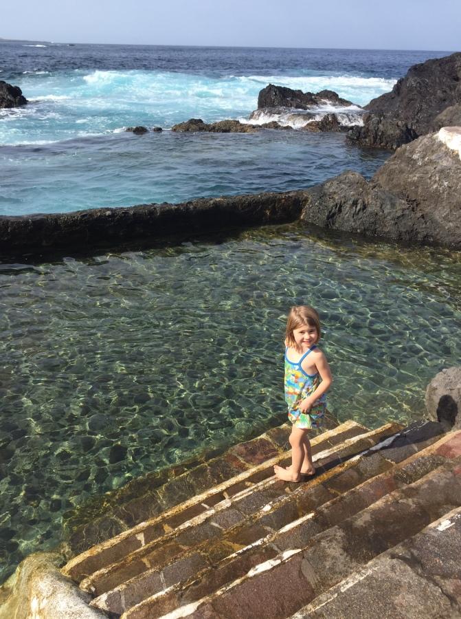 The bathing pools, Garachico