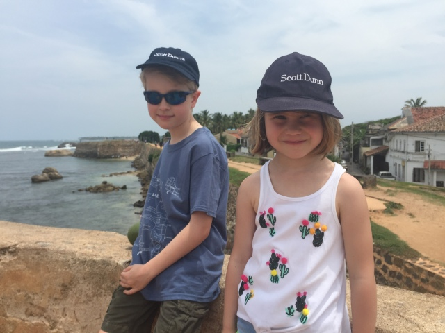 Kids in Galle