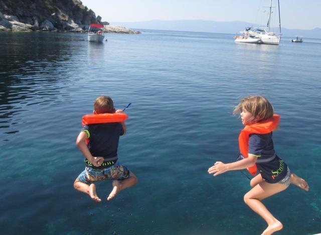 Aqua Explorers boat trip